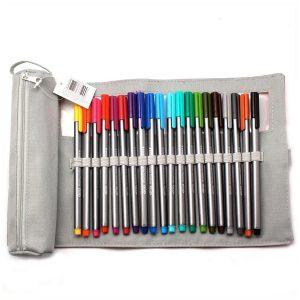 Fine Line Pens + Case