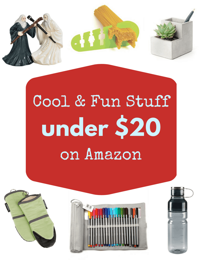 Cool & Fun Stuff On Amazon Under $20