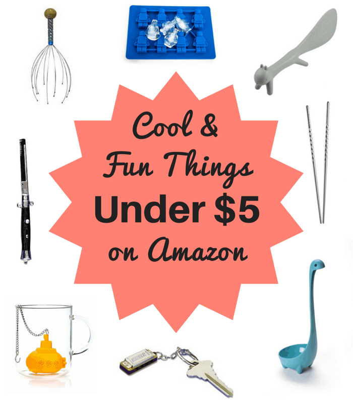 Cool & Fun Stuff On Amazon Under $5