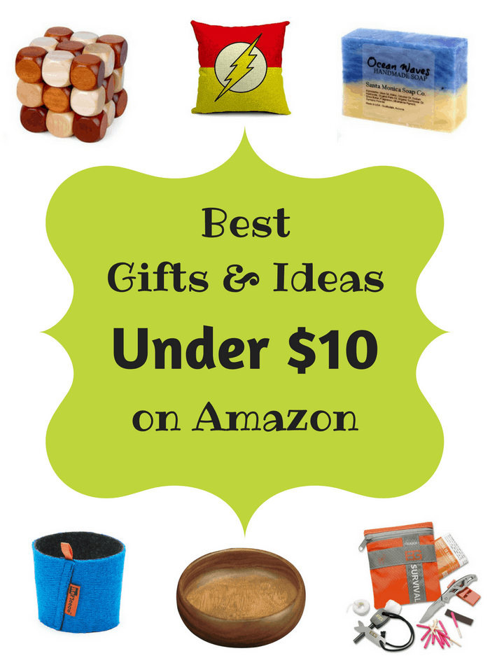 Best Gifts & Ideas under $10 on Amazon