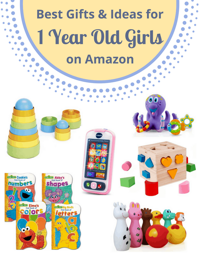 Best Gifts & Ideas For 1 Year Old Girls on Amazon