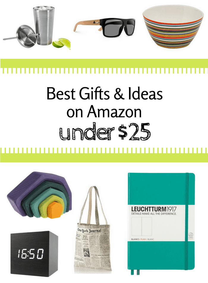 Best Gifts & Ideas On Amazon Under $25