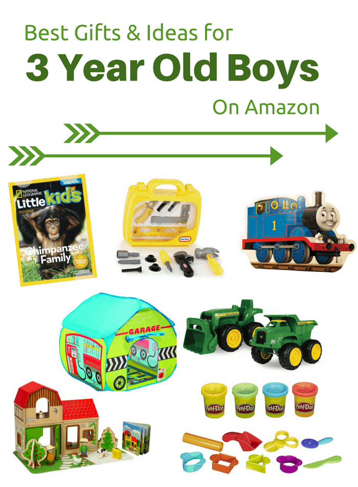 Best Gifts & Ideas for 3 Year Old Boys on Amazon