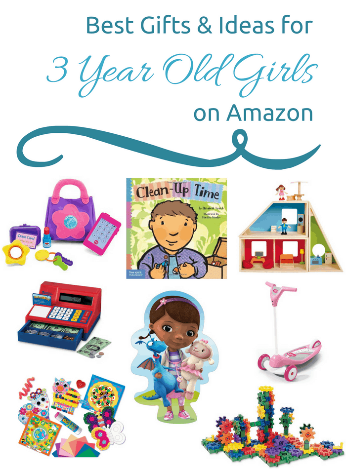 Best Gifts & Ideas for 3 Year Old Girls on Amazon