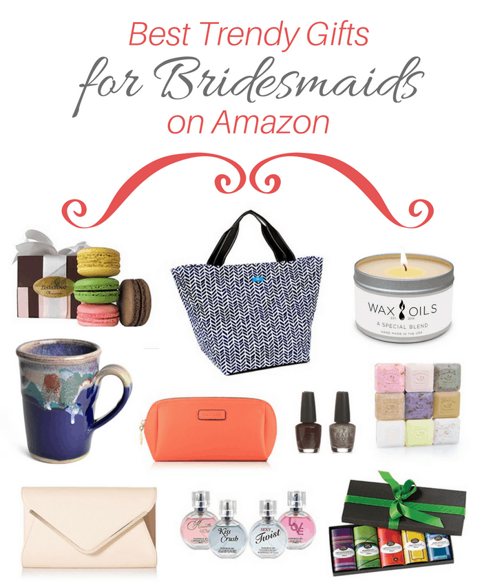 Best Gifts & Ideas for Bridesmaids on Amazon