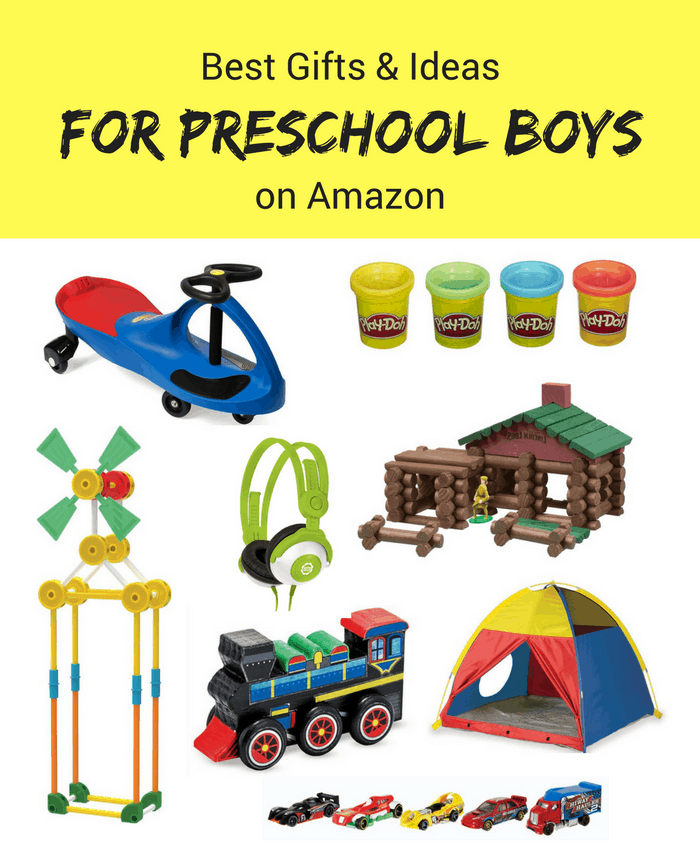 Best Gifts & Ideas for Preschool Boys on Amazon