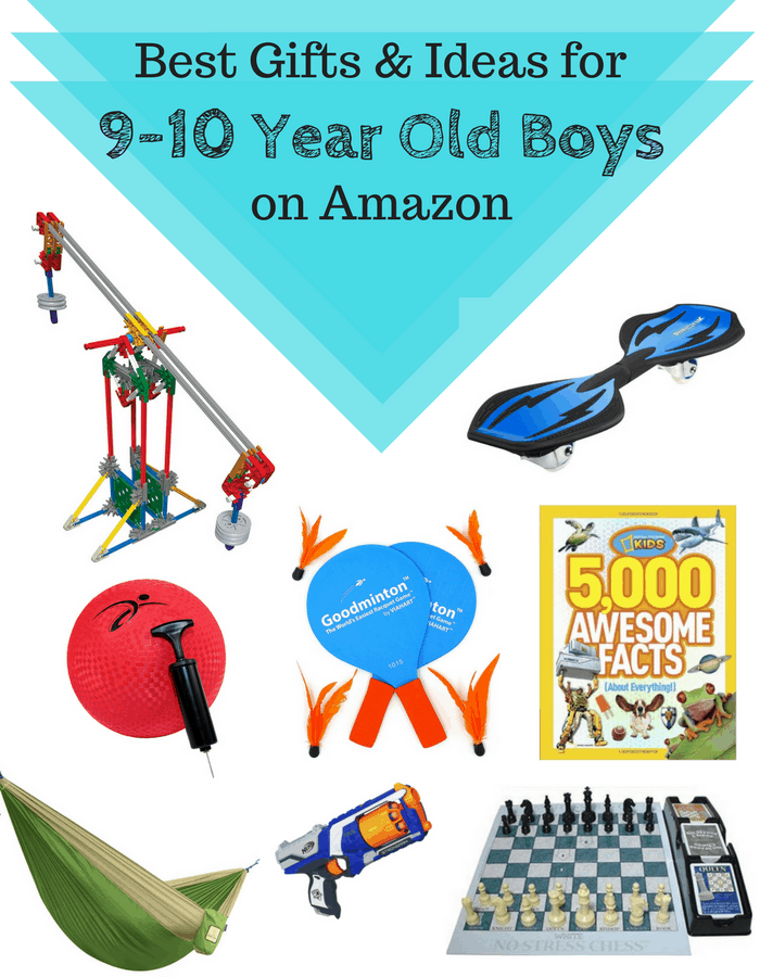 Best Gifts & Ideas For Older School Age Boys (9 to 10 Years Old) on Amazon