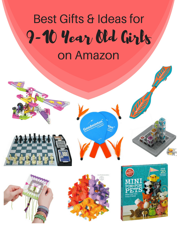 Best Gifts & Ideas For Older School Age Girls (9 to 10 Years Old) on Amazon