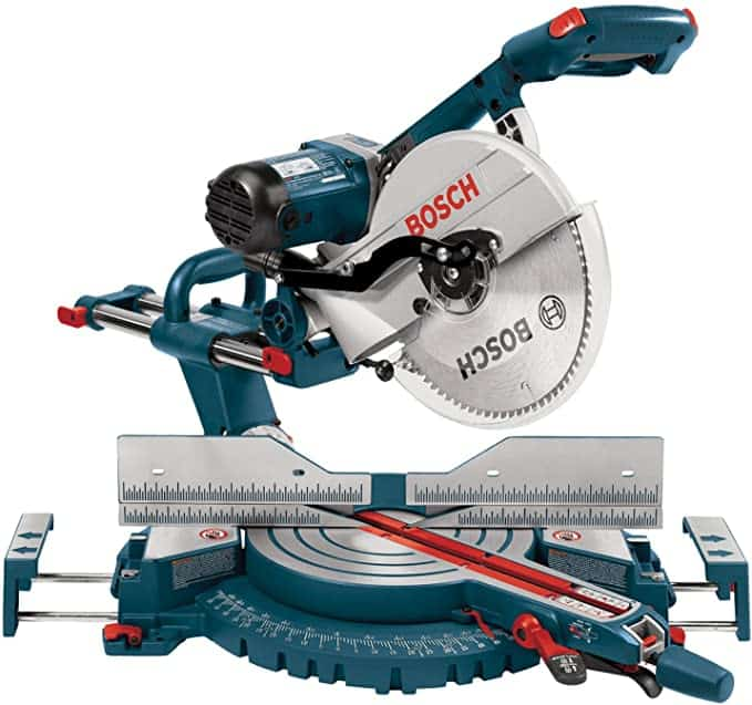 Bosch 5312 12-Inch Dual Bevel Slide Compound Miter Saw - Power Miter Saws