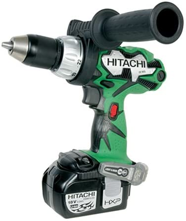Hitachi DS18DL 18-Volt Lithium-Ion 1/2-Inch Cordless Driver Drill: Home Improvement