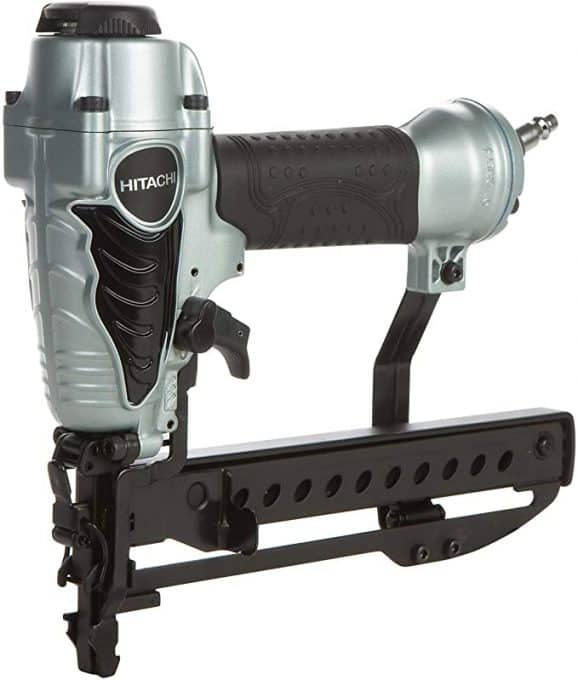Hitachi N3804AB3 1 1/2-Inch 18-Gauge Narrow Crown Finish Stapler - Power Staplers