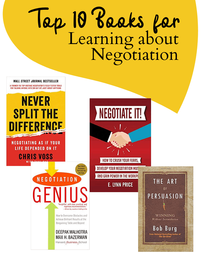Books on Negotiation